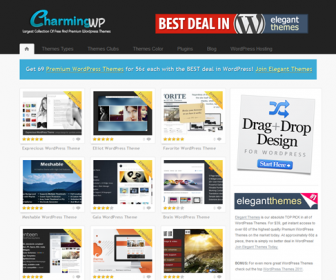 CharmingWP - High Quality Free and Premium WordPress Themes