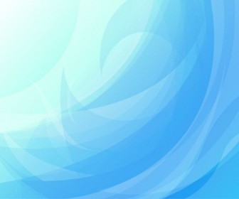 Abstract Vector Blue Background Graphic