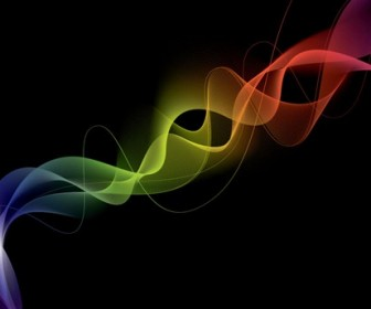 Abstract Smoke Effect Vector Illustration