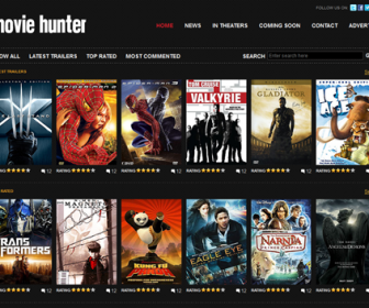 Free Website Template - Movie Hunter