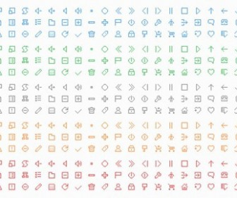 Free Pixel Style Icon Set