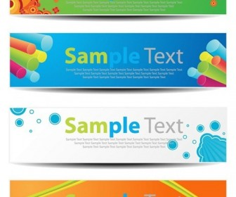 Vector Horizontal Banners