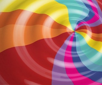 Rainbow Color Vector Background