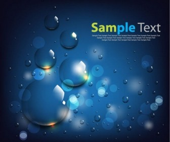 Water Background Vector Art