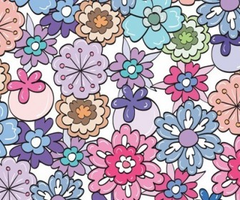 Floral Pattern Vector Graphic