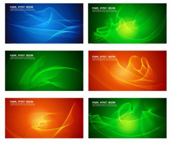 Visual Effect Design Vector Set