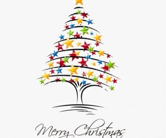 Christmas Tree Vector Illustration 2