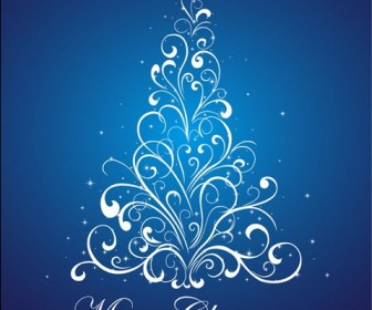 Christmas Tree Vector Illustration 4