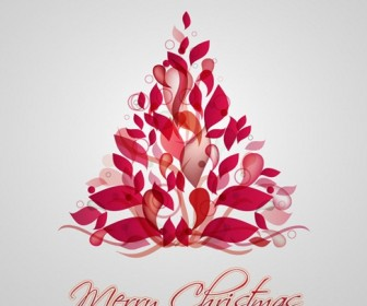 Christmas Tree Vector Illustration 6