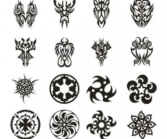 Tattoo Vector Set 3