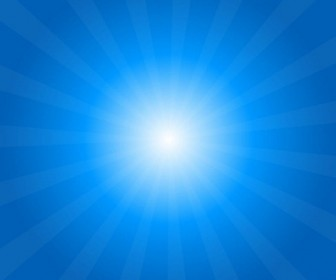 Sun Rays Vector Background