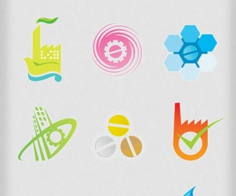 Free Vector Industrial Logo Elements