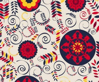 Floral Design Vector Background