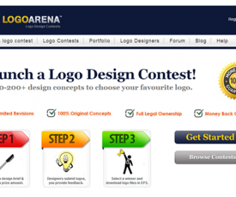 Start a Logo Design Contest at LogoArena.com