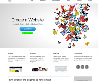Creative Website Design with IM Creator