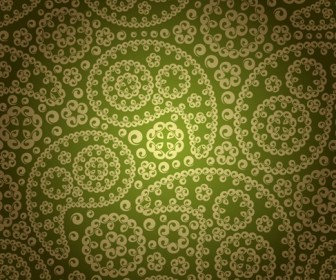 Vintage Floral Pattern Seamless Background
