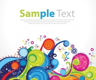 Trend Colorful Pattern Vector Illustration