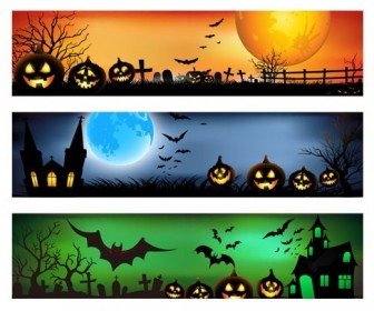 Vector Banner for Halloween