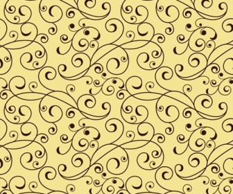Floral Pattern Seamless Vector Graphic