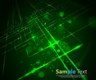 Virtual Tecnology Vector Background