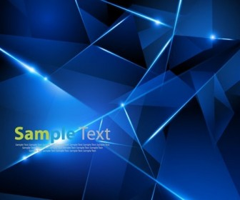 Blue Abstract Background Vector Graphic Art