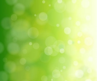 Natural Green Background Vector Graphic