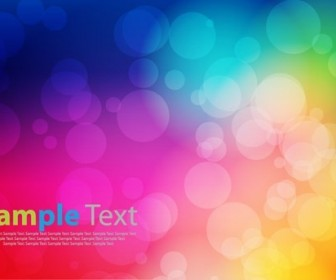 Festive Light Colorful Background Vector Graphic