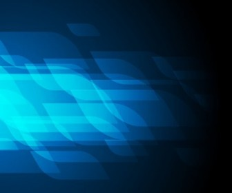 Blue Background Abstract Vector Editable Graphic