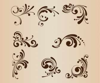 Floral Patterns for Design Vector Illustration