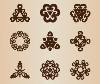 Vector Retro Style Design Elements