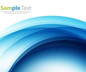 Blue Design Abstract Background Vector Illustration