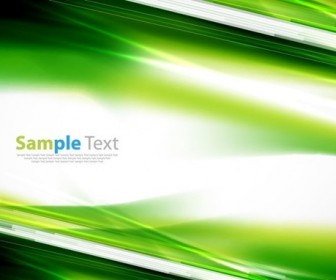 Abstract Green Background Vector Illustration 1