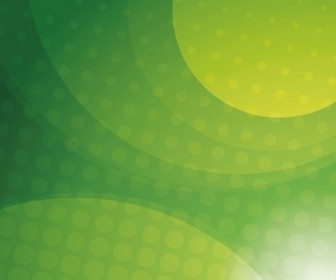 Vector Illustration of Green Abstract Background