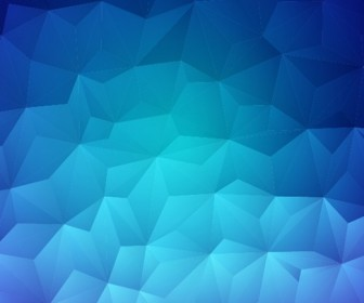 Modern Design Abstract Blue Background Vector Illustration