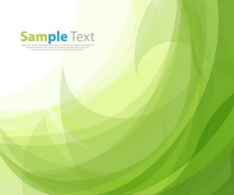 Vector Illustration of Abstract Green Background
