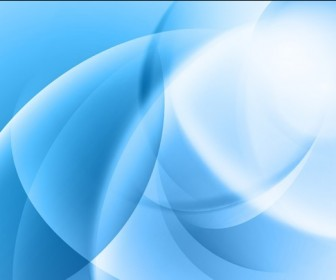 Vector Illustration of Abstract Smooth Blue Background