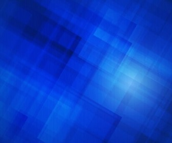 Vector Illustration of Abstract Blue Design Background