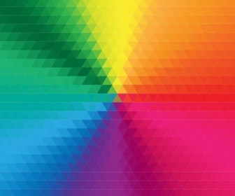 Colorful Geometric Background Vector Illustration