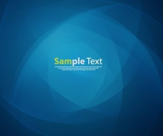 Abstract Design Blue Background Vector
