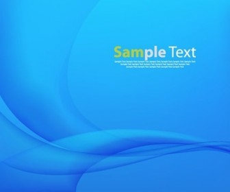 Vector Blue Abstract Design Background Illustration