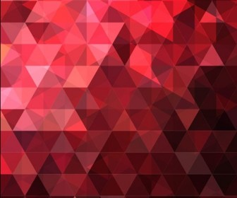 Abstract Triangles Design Vector Background Illustration